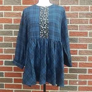 Suzanne Betro weekend baby doll tunic